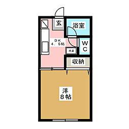 グルメマンション[2階]の間取り