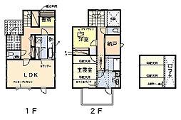 [一戸建] 神奈川県中郡大磯町西小磯 の賃貸【/】の間取り