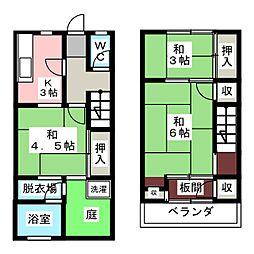 城ビル[1階]の間取り