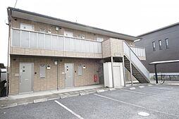 埼玉県鴻巣市吹上本町2丁目の賃貸アパートの外観