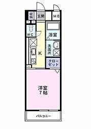 プレ・アビタシオン春日部I[0203号室]の間取り