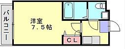 アビタウノ春日[3階]の間取り