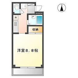 ローレル京町[3階]の間取り