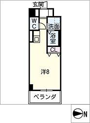 サン・名駅太閤ビル[12階]の間取り