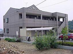 広島県福山市城興ケ丘の賃貸マンションの外観