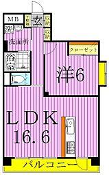第五宝マンション[7階]の間取り