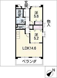 オアシス21[1階]の間取り