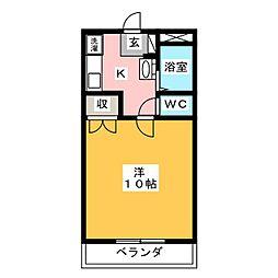 グローバルビル[3階]の間取り