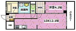 グロワール南昭和[2階]の間取り