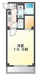 アイユー[2階]の間取り