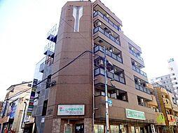 大阪府大阪市東住吉区山坂5の賃貸マンションの外観