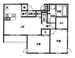 仮称)西宮市石刎町D-room[1階]の間取り