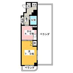 クリオ焼津壱番館[5階]の間取り
