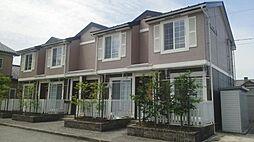 富山県富山市町村二丁目の賃貸アパートの外観