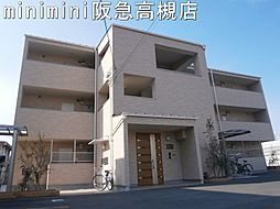大阪府高槻市藤の里町の賃貸マンションの外観