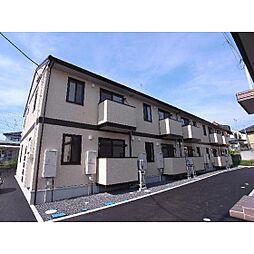 福島県郡山市開成6丁目の賃貸アパートの外観