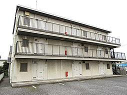埼玉県上尾市本町2丁目の賃貸アパートの外観