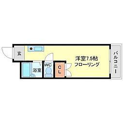 上新ビル7[5階]の間取り