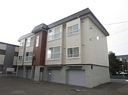 北海道札幌市東区北四十六条東10丁目の賃貸アパートの外観