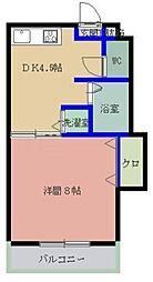 MYコーポⅡ[306号室]の間取り