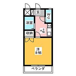 エクシードMAビル[3階]の間取り