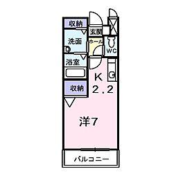 グレイスフル[0205号室]の間取り