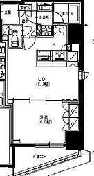 S-RESIDENCE曳舟 3階1LDKの間取り