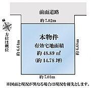 駅10分 3駅3路線利用可 利便性の高いエリアの整形地です。間口広々約7m 接道状況も良好です。