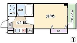 スタジオM[5階]の間取り