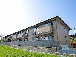 奈良県磯城郡田原本町大字阪手の賃貸アパートの外観