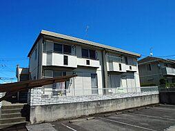 栃木県宇都宮市緑1丁目の賃貸アパートの外観