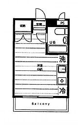 メゾン・ド・シャル[3階]の間取り