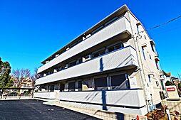 埼玉県越谷市東大沢4丁目の賃貸アパートの外観