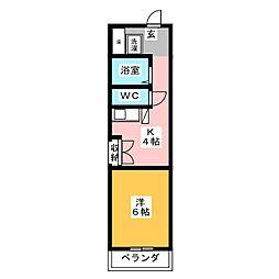 千代田ビルディング[7階]の間取り