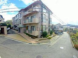 兵庫県川西市平野1丁目の賃貸マンションの外観