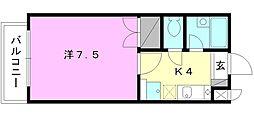 湯築ロジュマン3[302 号室号室]の間取り