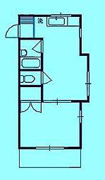 シティーハイツ[3階]の間取り