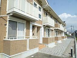 静岡県磐田市岡の賃貸アパートの外観