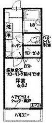 グランドステージ横須賀[202号室]の間取り