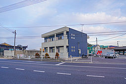 岡山県岡山市中区長岡の賃貸アパートの外観