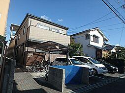 大阪府高槻市栄町2丁目の賃貸アパートの外観