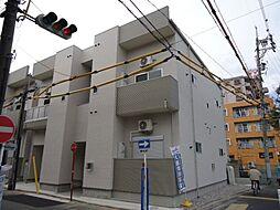 愛知県名古屋市北区東水切町3の賃貸アパートの外観
