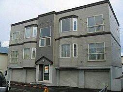 北海道札幌市白石区中央一条6丁目の賃貸アパートの外観