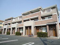 群馬県前橋市上泉町の賃貸アパートの外観