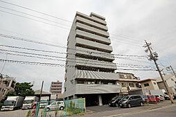 愛知県名古屋市港区善進本町の賃貸マンションの外観