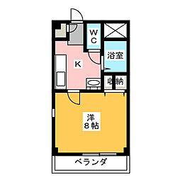フィオーレ[2階]の間取り