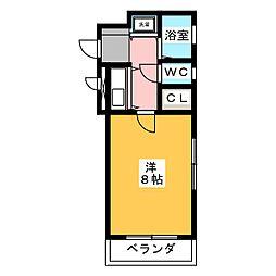 エスポワール箱崎III[4階]の間取り