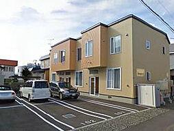 [テラスハウス] 北海道札幌市北区篠路二条5丁目 の賃貸【/】の外観