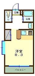 グローリアレジデンス[2階]の間取り