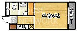 大徳寺温泉マンション[202号室号室]の間取り